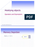 Operator & Expressions