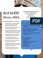 Kirsten Weiss Global Marketing