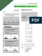 MRUV Formulas