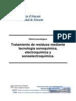 Aguas Residuales Sonoelectroquimica ESP