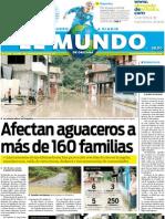 Portada El Mundo de Orizaba 19 Julio
