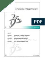 Adaptive Remeshing Summary