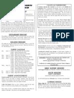 All Saints Bulletin 2008-09-14