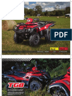 TGB All Terrain Vehicle Brochure 2012
