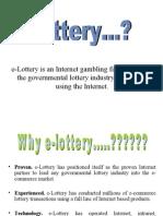 e Lottery Presentation