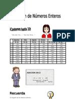 IV BIM - 5to. grado - Arit.- Guía 4 - Adición de números ent