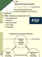Brand Cbbe Model