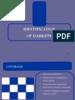 International marketing,Identification of Market2