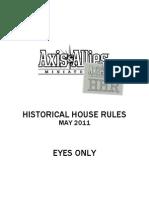 Rulebook HHR4.0
