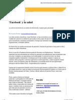 ™ El Nuevo Día - Facebook y La Salud