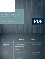 PEDAGOGIA HISTORICO-CRÍTICA - plano de unidade