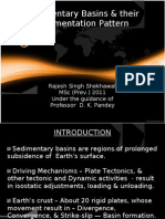 Sedimentary Basins & Their Sedimentation Pattern