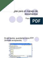 Reglas Manejo Documentos en ATLAS.ti