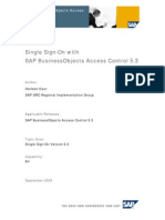 Sap Grc Ac 5.3 Single Sign-On