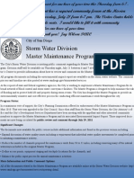 Storm Water Hearing