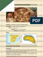 Ficha de Recurso gastronómico
