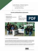 CarreraMecatronicaAutomotrizCR2009