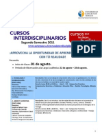 DDO 2011 Segundo Semestre 2011