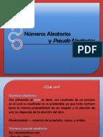 Numeros Pseudoaleatorios - Variables Aleatorias Presentacion