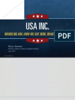 USA Inc. - Slideshow & Commentary