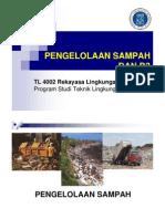 Pengelolaan Sampah Dan b3