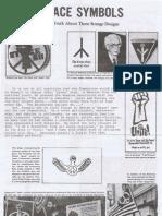 Peace Symbols TACT Handbill