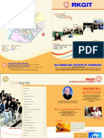 RKGIT Information Brochure