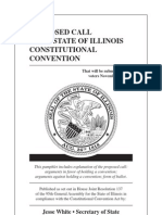 IL Constitutional Convention Voter Education Pamphlet