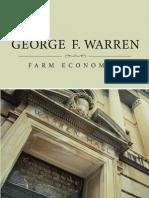 George F Warren Farm Economist by Stanton