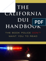 The California DUI Handbook
