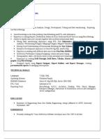 Praveen Kumar.P Micro Strategy Resume