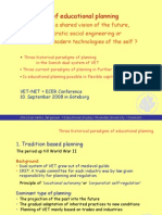 [PowerPoint version - slides] - Paradox of planning in vocational education and training