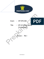Prepking HP0-090 Exam Questions