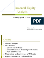 Equity Analysis