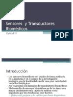 Sens. y Transduc. Bio Medicos