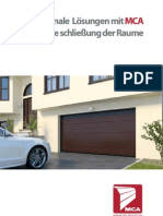 DE - Garage Doors Brochure - MCA - Factory www.mcagrup.ro