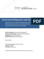 PIP - Social Networking Sites and Our Lives