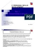 Part 1 - Transferable Skills [Compatibility Mode]