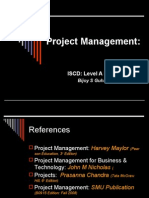 Project Management Lvl a Prt II 2009_11_edn 3