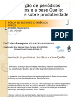 Avaliacao Periodicos Cientificos