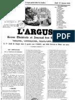 L'Argus 1845 23 Janvier