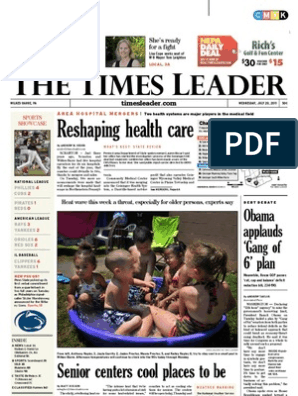Times Leader 07-20-2011 | Wilkes Barre | Business