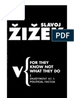 Žižek, Slavoj - For They Know not What They Do; Enjoyment as a Political Factor (B&W & Recognized Text Version)