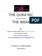 The Qur'an and the Weak