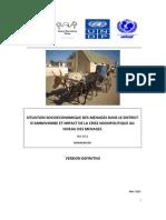 Situation socioéconomique des ménages dans le district d'Ambovombe et impact de la crise sociopolitique au niveau des ménages  (SNU - 2011)