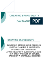 (a)Creating Brand Equity