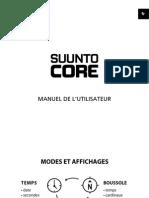 SUUNTO Core Userguide FR