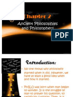 Chapter 2 Ancient Philosophies and Philosophers