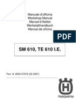2008 Husqvarna SM-TE 610IE Service Manual