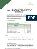 Plan de Mantenimiento Preventivo Planta